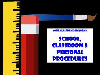 Editable Class Handbook & Powerpoint