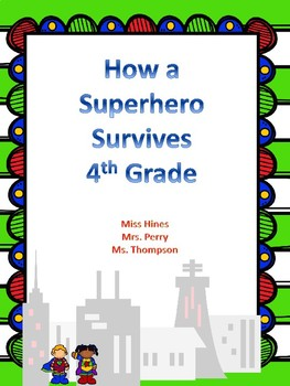 Class Handbook Superhero Themed