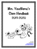 Class Handbook for Open House / Back to School Night