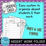 Class Handbook/Syllabus and Absent/Missing Assignment Sheet