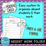 Class Handbook/Syllabus and Absent/Missing Assignment Sheet