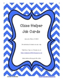 Class Helper Job Cards - 40 Cards!