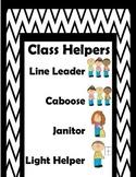 Class Helpers Clip Chart
