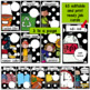 Class Jobs/Helpers ~ Editable Black and White Polka Dots