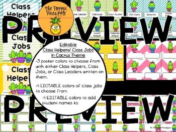 Class Helpers/Jobs in Cactus Theme EDITABLE