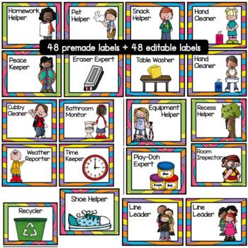 Class Jobs- Whimsical