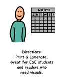 Class Helpers for ESE Classroom