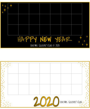 Class Holiday Card Template - *GROWING BUNDLE*