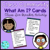 Ice Breaker Activity - What Am I? - Back to School