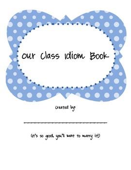 Class Idiom Creative Writing Book