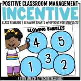 Class Incentive | Class Reward | Behavior Chart - Blowing Bubbles
