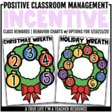 Class Incentive | Class Reward | Behavior Chart - Christma