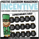 Class Incentive | Class Reward | Behavior Chart - Leprecha