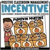 Class Incentive | Class Reward | Behavior Chart - Pumpkin Muffins