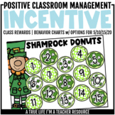 Class Incentive | Class Reward | Behavior Chart - Shamrock Donuts