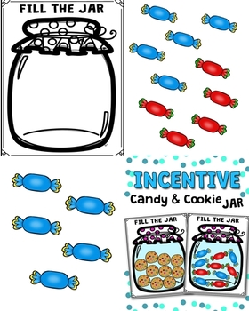Incentive Compliment Candy and Cookie Jar