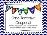 Class Incentive Coupons