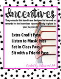 Student Incentives Printable - Behavior - Classroom Manage