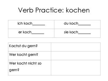 Class Interview: Present Tense (Singular Forms)