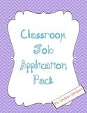 Class Job Application 3 Pack!