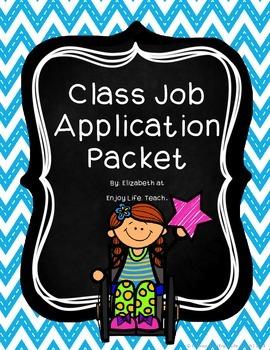 Class Job Application Packet