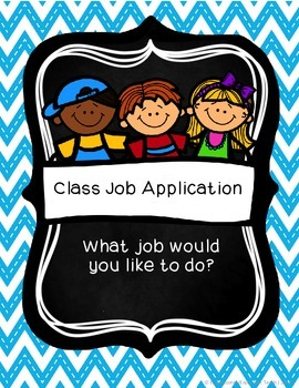 Class Job Application Packet