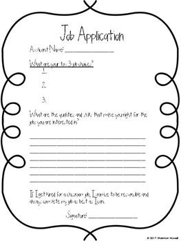 Class Job Applications