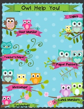 Class Job Board - OWLS!