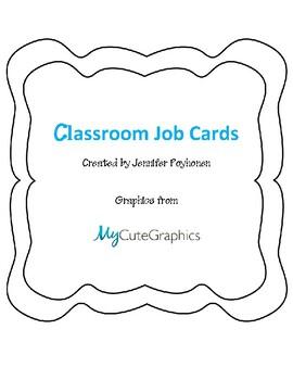 Class Job Cards