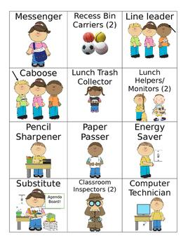 Class Job Chart- Editable
