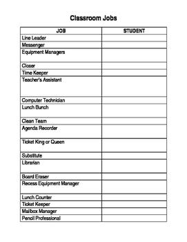 Class Job Classifieds & Application