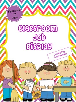 Class Job Display 2 {Chevron Brights}