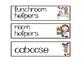 Class Job & Helper Cards for Classroom Management