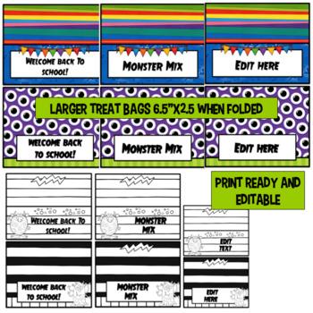 Class Job Labels- Editable
