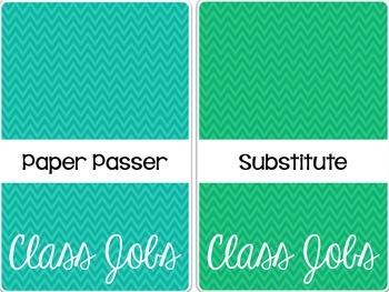 Chevron Class Job Pockets