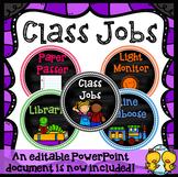 Class Jobs (Editable)
