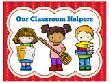 Classroom Helpers | Preschool Kindergarten 1st | Class Hel