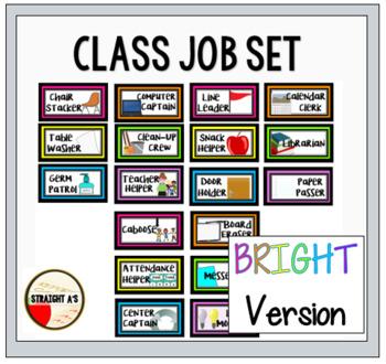 Class Jobs { Bright Version }