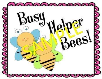 Class Jobs Busy Helper Bees