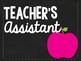 Class Jobs- Chalkboard Theme