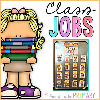 Classroom Jobs System for Classroom Management - Fully EDITABLE