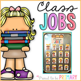 Classroom Jobs System for Classroom Management - EDITABLE
