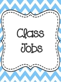 Class Jobs Chart-Colorful Chevron