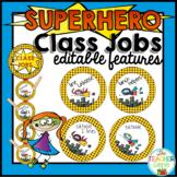 Superhero Class Jobs Chart