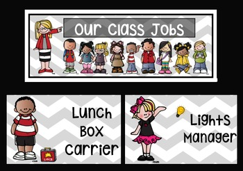 Class Jobs Chevron (Editable)