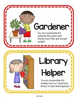 Class Jobs / Class Helpers with Descriptions