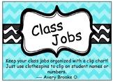 Class Jobs Clip Chart