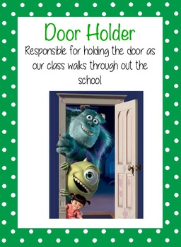 Class Jobs Disney Theme
