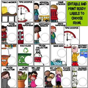 Class Jobs/Helpers ~ Editable