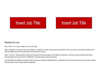 Class Jobs - Key Theme